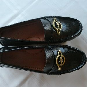 COACH Margot Patent Leather Loafers Moccasins 7